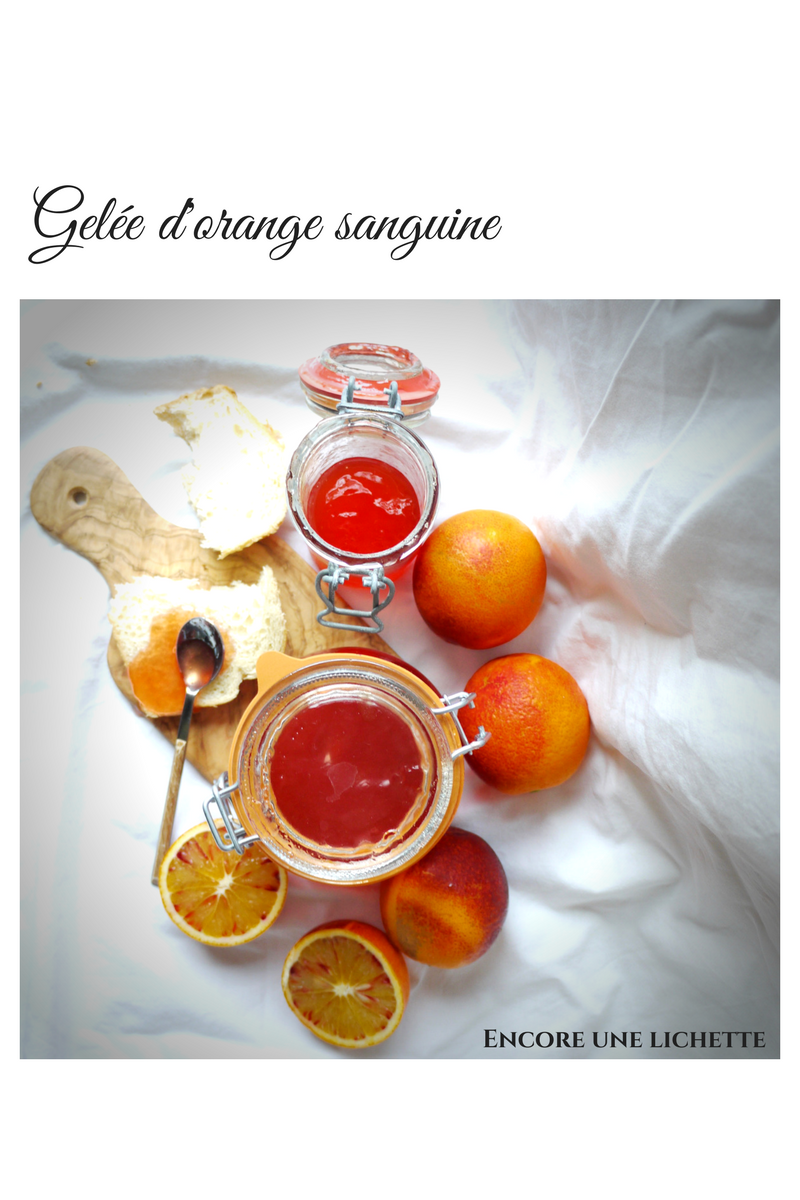 Gelée d'orange sanguine
