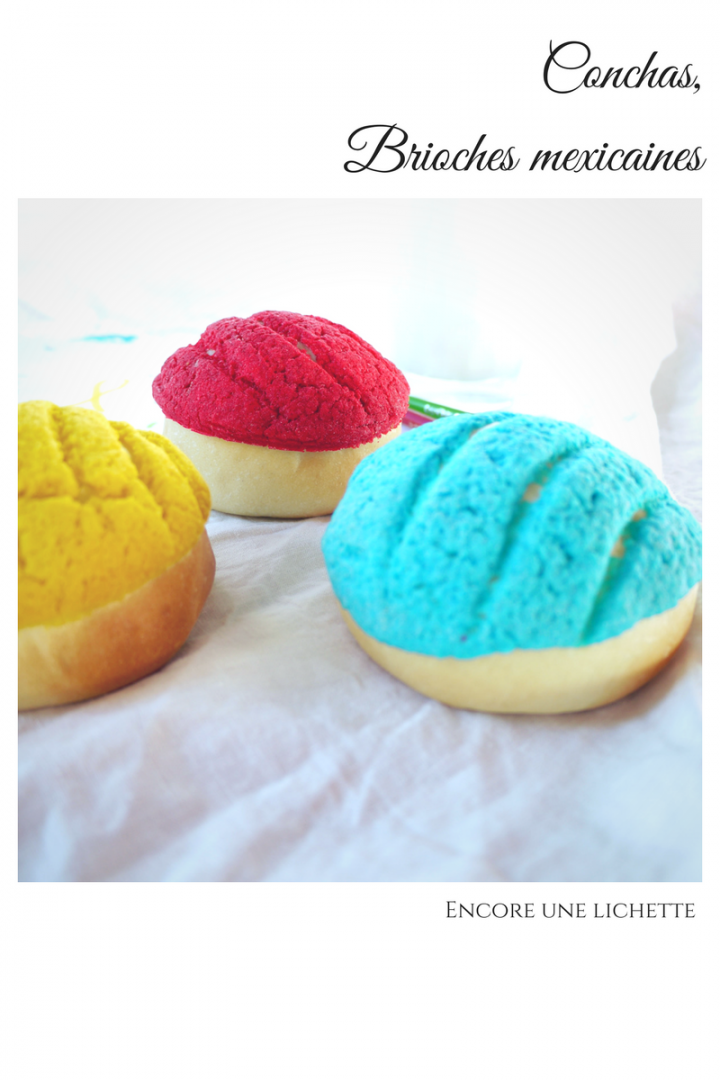 Conchas, brioches mexicaines multicolores pour la #Battlefood52