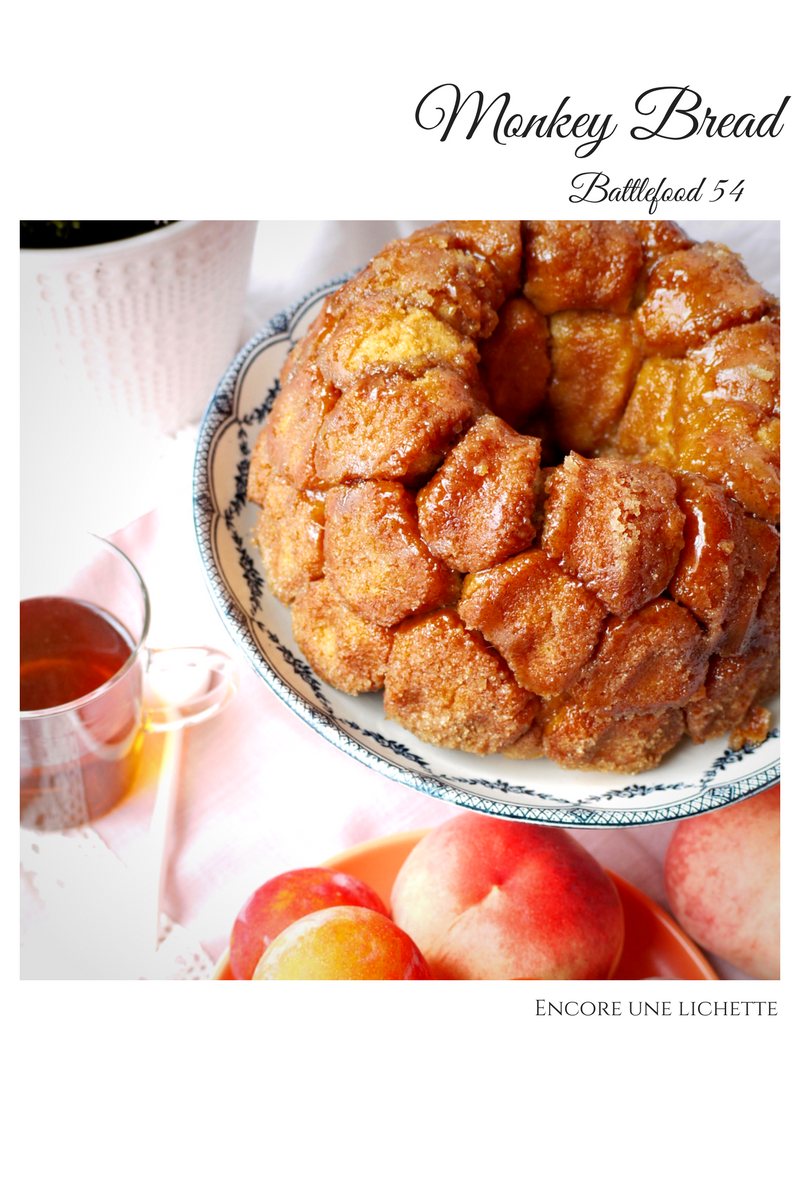 Monkey Bread pour un brunch ultra gourmand Battle food #54