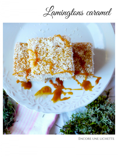 Lamingtons caramel