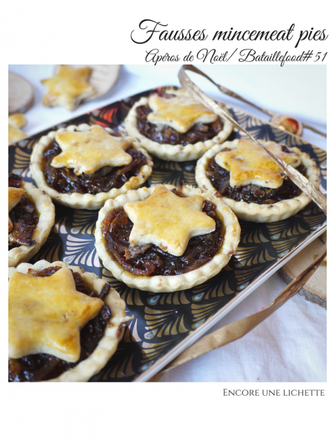 Fausses mincemeat pies